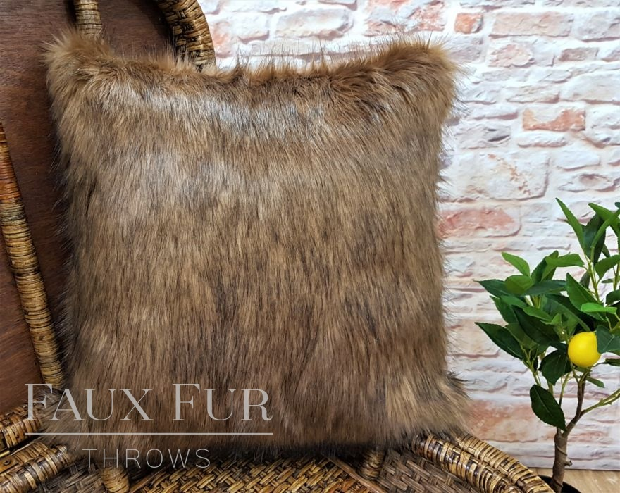 Sahara Faux Fur Cushion