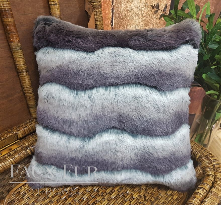 Silver Ombre Cushion