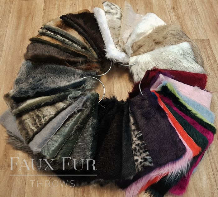 Fast Faux Fur Fabric Samples