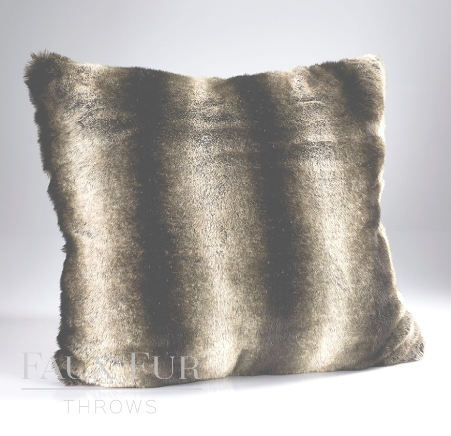 New Meribel Luxury Faux Fur Cushion
