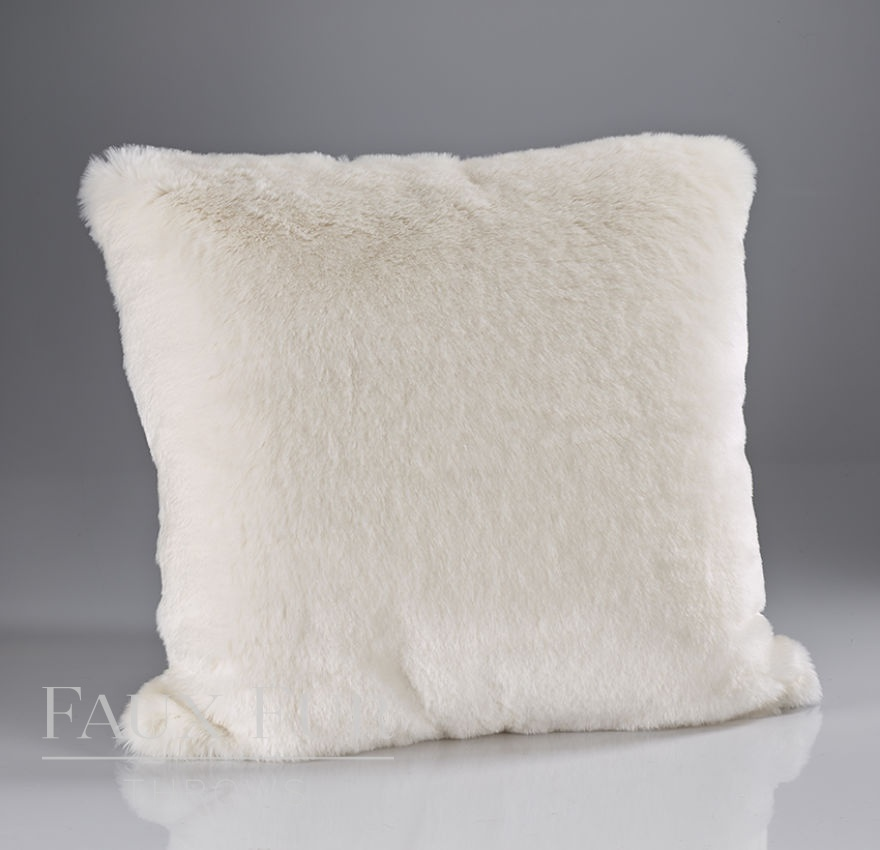 Nordic Cream Plush Cushion