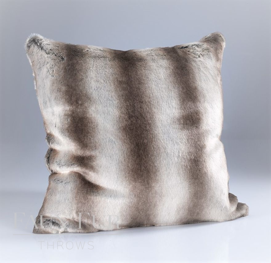Oyster Mink Faux FurCushion