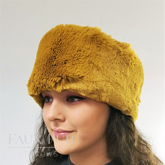 Kalahari Gold Faux Fur Headband