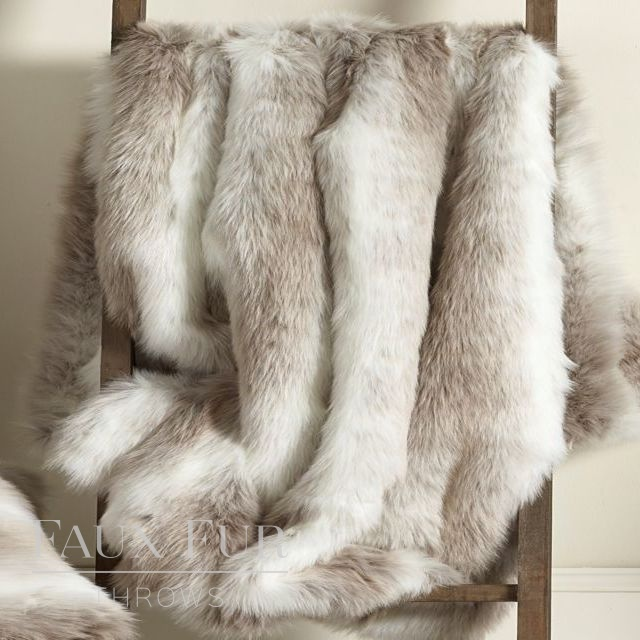 ALPENDORF Luxury Longhaired Faux Fur Bed Runner