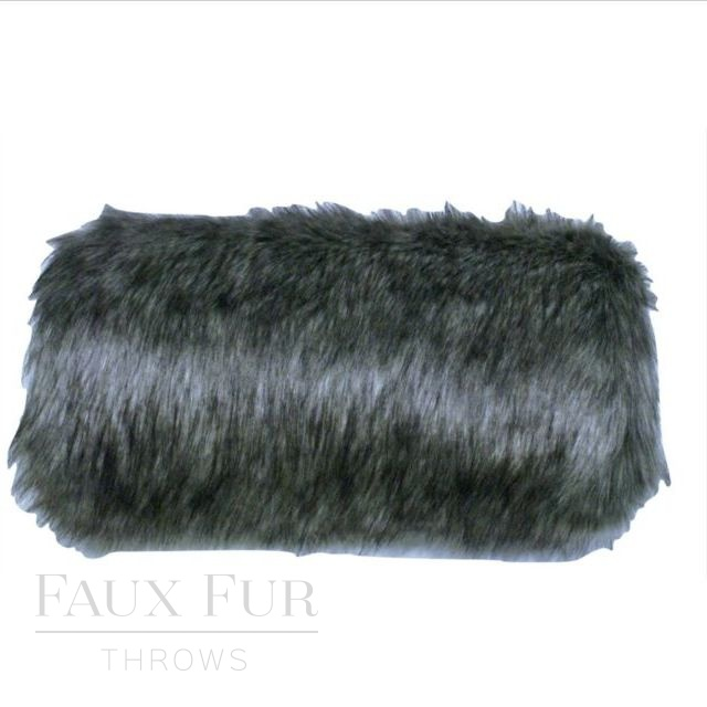 Faux Fur Muff - Lady Grey by Helen Moore