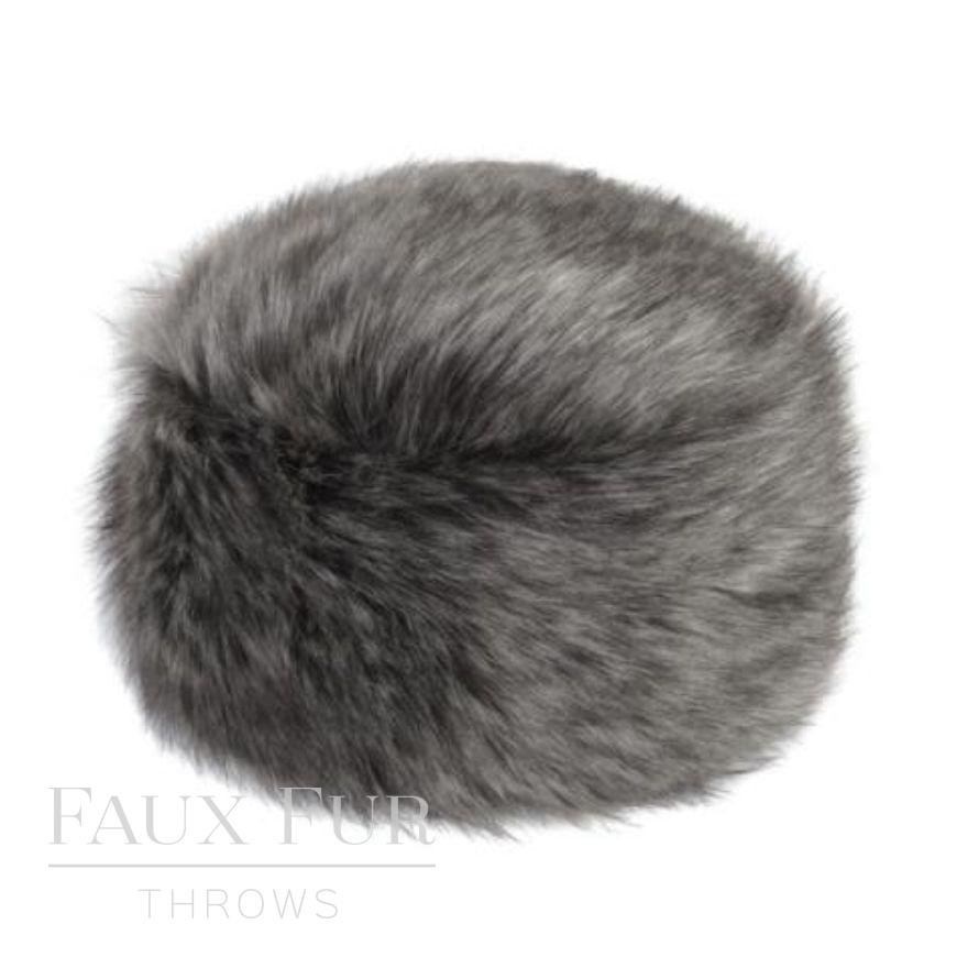 lady grey pillbox hat a
