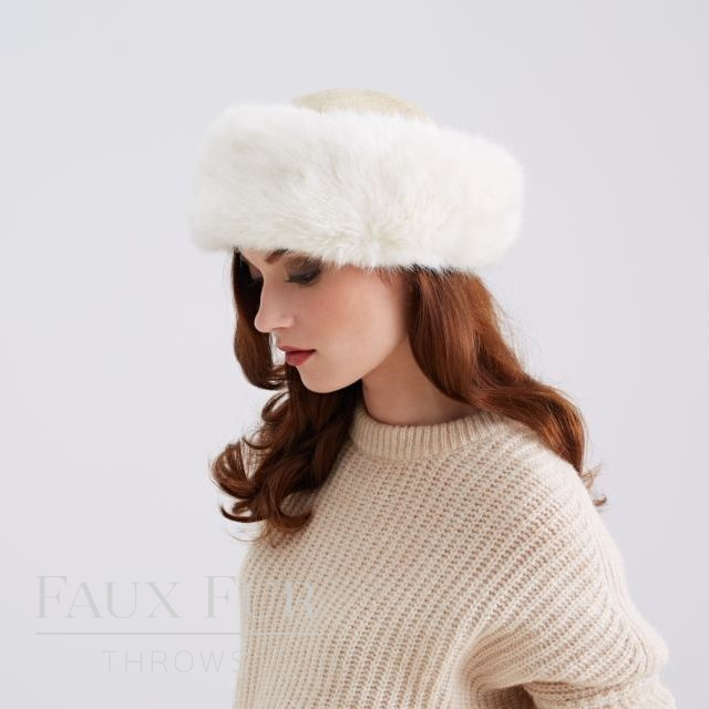 Faux Fur Hats and Headbands