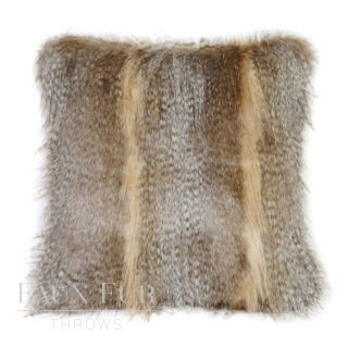 Banff Luxury Long Haired Faux Fur Throw