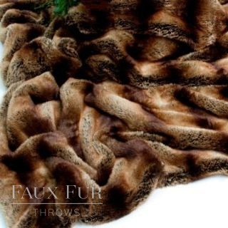 New Chamonix Luxury Faux Fur Throw