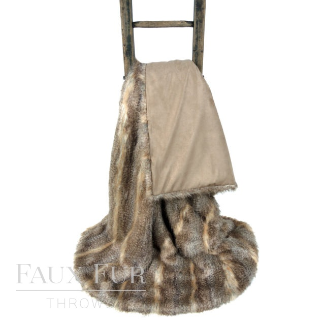 BANFF Luxury Long Haired Faux Fur Bed Runner