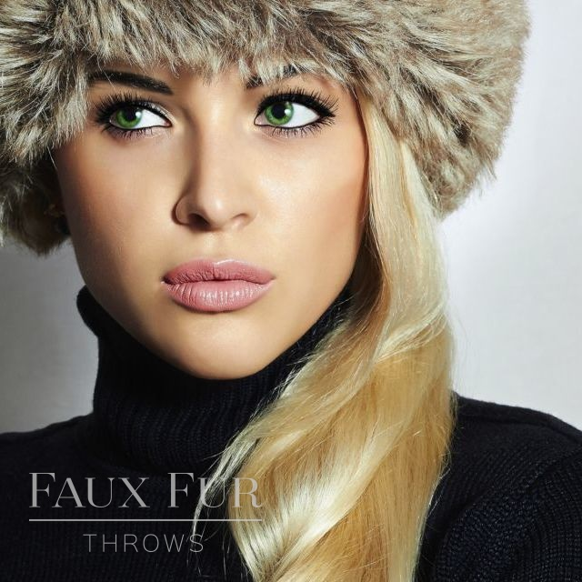 Faux Fur Hat - Designer Pillbox Style- Truffle by Helen Moore