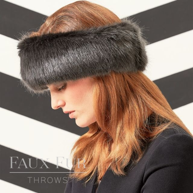 Faux Fur Huffs - Headbands